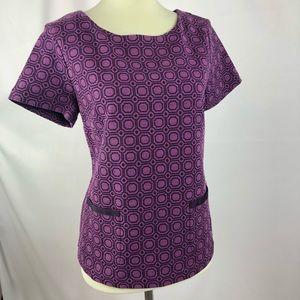 New York & Company Purple Dress Shirt
